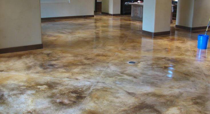 concrete stain