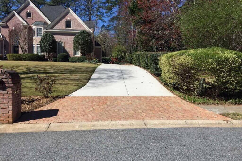 best concrete driveway