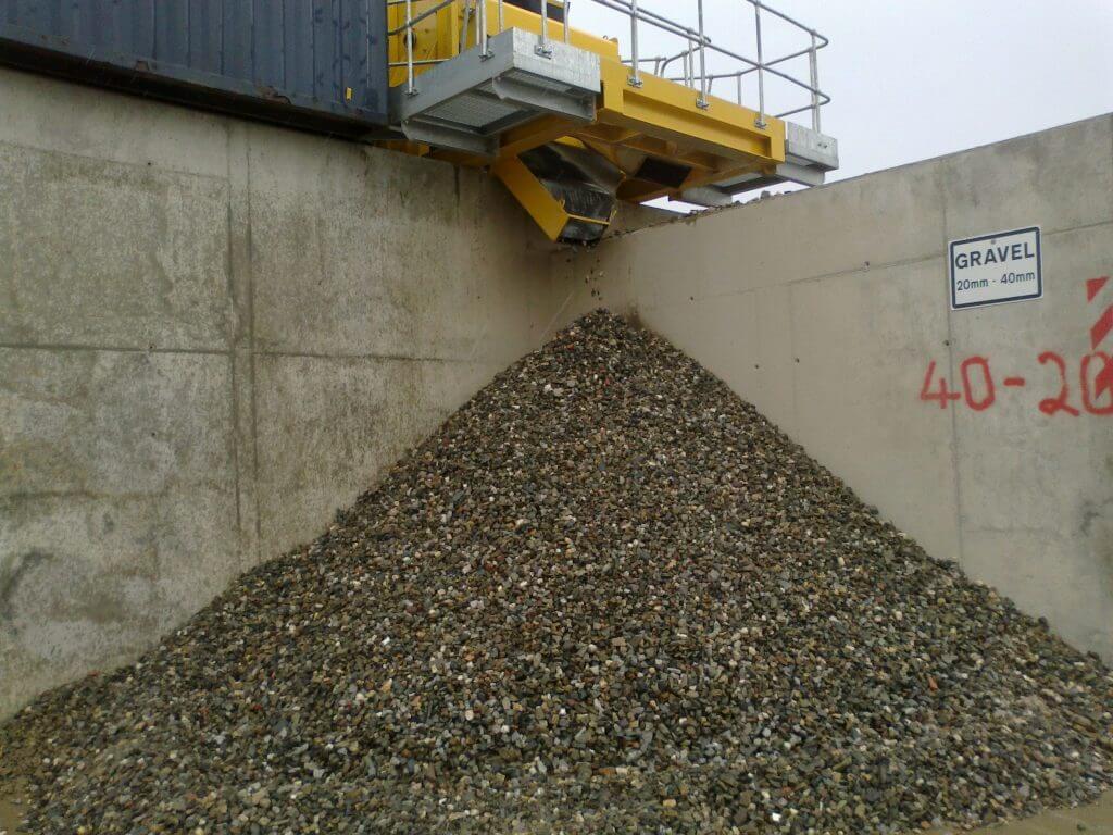 crushed concrete vs limestone