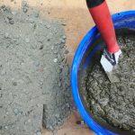fast setting concrete