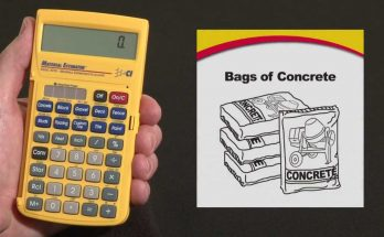 how many bags of concrete do i need for a 10x10 slab
